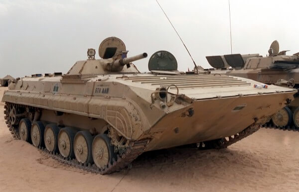 BMP-1 infantry fighting vehicle