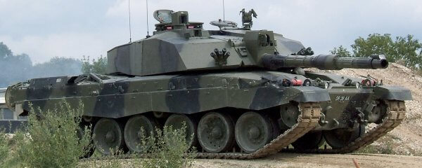 Challenger 2. The current British Army main battle tank.
