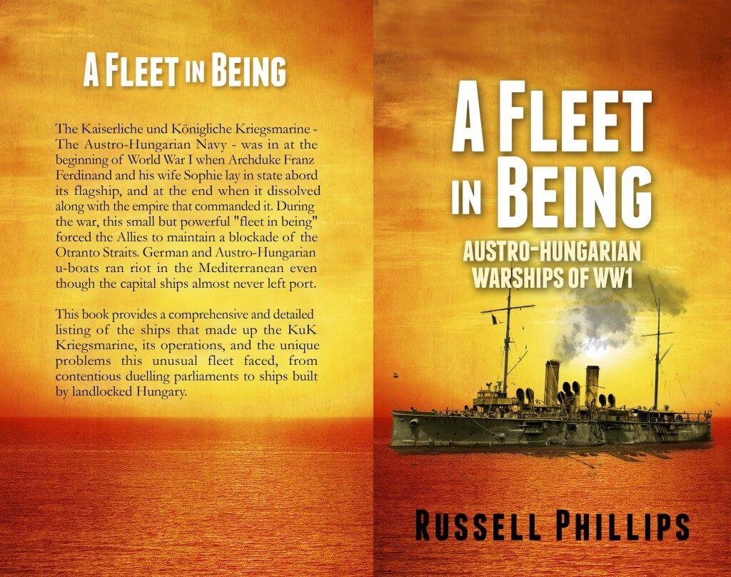 A Fleet in Being: paperback cover
