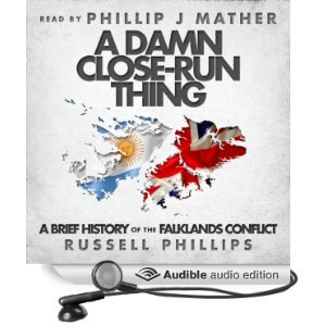 A Damn Close-Run Thing Audio book Cover