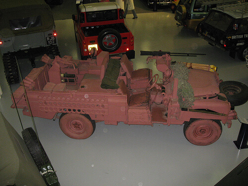 Pink Panther Land Rover