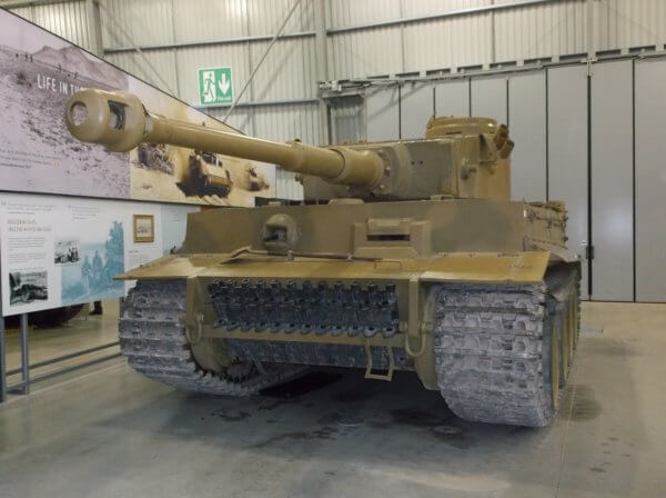 Tiger 131 at Bovington Tank Museum