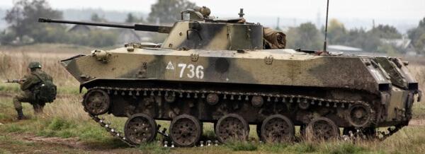 BMD-2 airborne combat vehicle