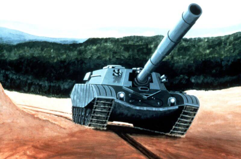 Artist's impression of the NST (Next Soviet Tank)