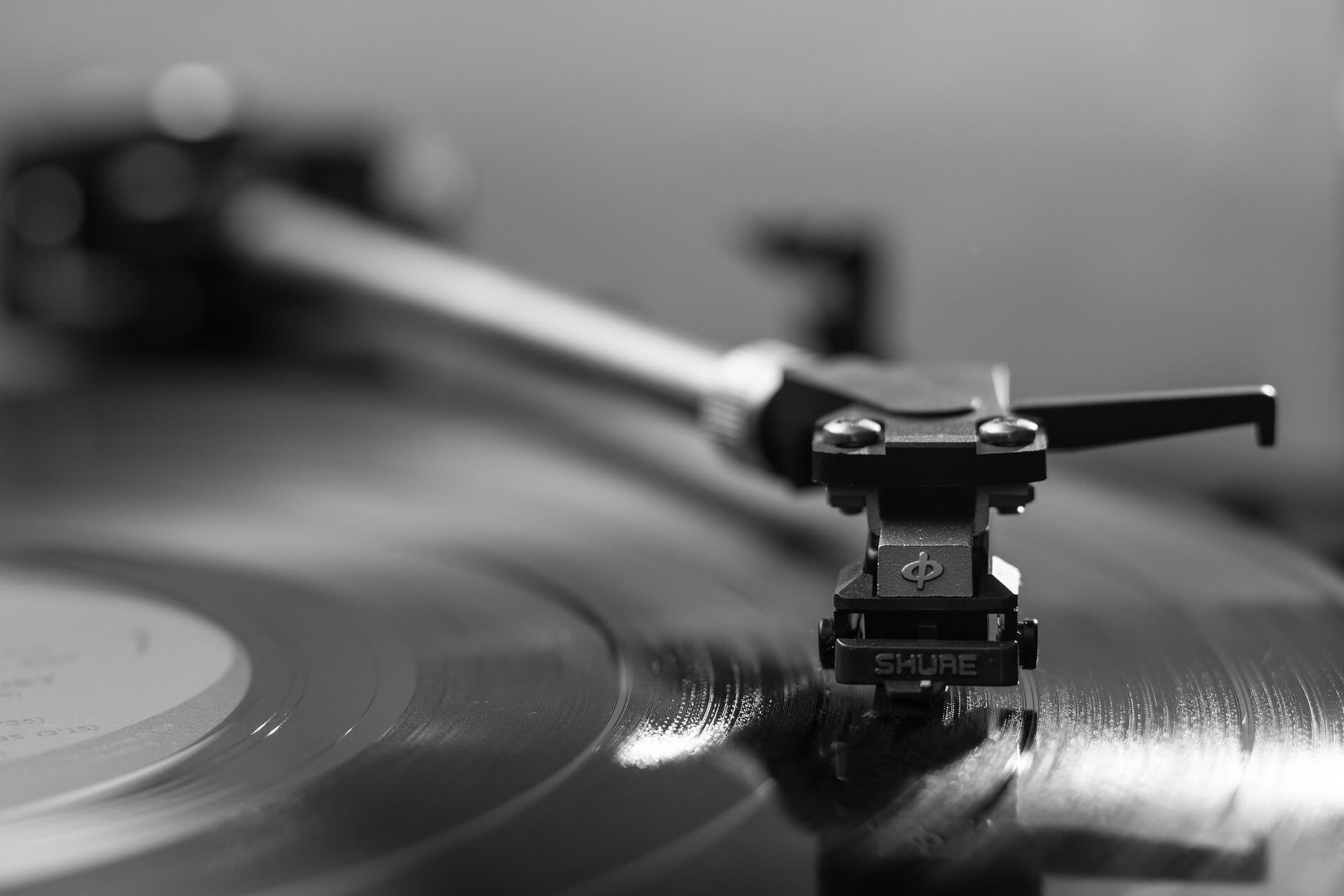 Record player. Photo by Gavin Whitner.