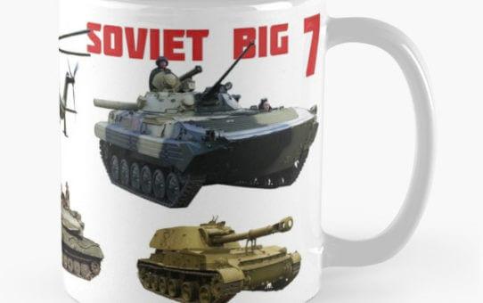 Soviet Big 7 mug